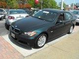 2007 Deep Green Metallic BMW 3 Series 328xi Sedan #28402670