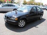 2002 Jet Black BMW 3 Series 325i Sedan #28402672