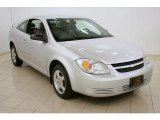 2007 Ultra Silver Metallic Chevrolet Cobalt LS Coupe #28403260