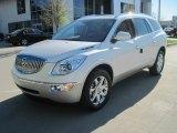 2010 White Diamond Tricoat Buick Enclave CXL #28403106