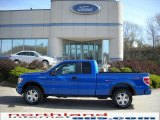 2010 Blue Flame Metallic Ford F150 FX4 SuperCab 4x4 #28402706