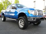 2010 Blue Flame Metallic Ford F150 XLT SuperCrew 4x4 #28402859