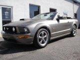 2005 Mineral Grey Metallic Ford Mustang GT Premium Convertible #28402725