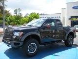 2010 Tuxedo Black Ford F150 SVT Raptor SuperCab 4x4 #28461394