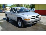 2003 Bright Silver Metallic Dodge Dakota SXT Club Cab #28461772