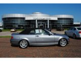 2004 Silver Grey Metallic BMW 3 Series 330i Convertible #28461812