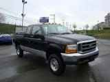 2000 Black Ford F250 Super Duty XLT Extended Cab 4x4 #28461446