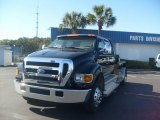 2007 Black Ford F650 Super Duty XLT CrewCab Pro Loader #2829923