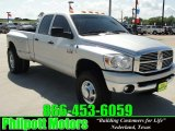2008 Bright Silver Metallic Dodge Ram 3500 Lone Star Quad Cab 4x4 Dually #28461575