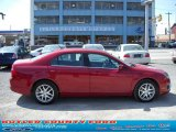 2010 Sangria Red Metallic Ford Fusion SEL V6 #28461466