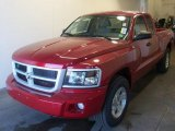 2010 Inferno Red Crystal Pearl Dodge Dakota Big Horn Extended Cab 4x4 #28461321
