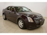 2009 Black Cherry Cadillac CTS Sedan #28461950