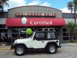 2006 Stone White Jeep Wrangler SE 4x4 #28461342