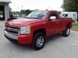 2008 Victory Red Chevrolet Silverado 1500 LT Regular Cab 4x4 #28461995