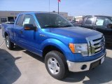 2010 Blue Flame Metallic Ford F150 XLT SuperCab 4x4 #28462031