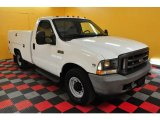 2002 Ford F350 Super Duty XL Regular Cab Utility Truck Data, Info and Specs