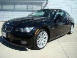 2007 Jet Black BMW 3 Series 328xi Coupe #28527395