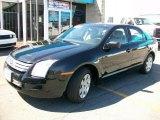 2008 Black Ebony Ford Fusion S #28527256