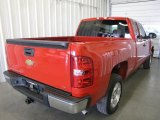 2008 Victory Red Chevrolet Silverado 1500 LT Extended Cab #28527910