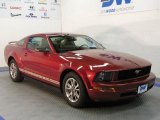 2005 Torch Red Ford Mustang V6 Premium Coupe #28527918
