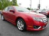 2010 Red Candy Metallic Ford Fusion Sport #28527564