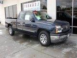 2005 Dark Blue Metallic Chevrolet Silverado 1500 LS Extended Cab #28527290