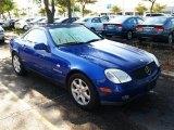 1998 Bahama Blue Metallic Mercedes-Benz SLK 230 Kompressor Roadster #28527299