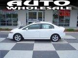 2007 Taffeta White Honda Civic EX Sedan #28527799