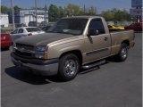 2004 Sandstone Metallic Chevrolet Silverado 1500 Regular Cab #28527442