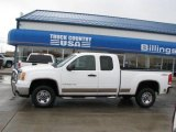 2007 Summit White GMC Sierra 2500HD SLE Extended Cab 4x4 #28527958
