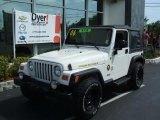 2006 Stone White Jeep Wrangler Sport 4x4 Golden Eagle #28527472