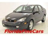 2003 Pitch Black Ford Focus ZTS Sedan #28527483