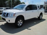 White Nissan Titan in 2007
