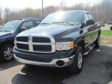 2004 Black Dodge Ram 1500 SLT Quad Cab 4x4 #28527987