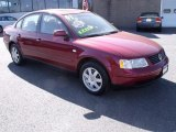 2001 Volkswagen Passat Colorado Red Pearl