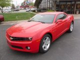 2010 Victory Red Chevrolet Camaro LT Coupe #28528040
