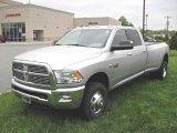 2010 Bright Silver Metallic Dodge Ram 3500 Big Horn Edition Crew Cab 4x4 Dually #28595430