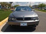 2003 Sterling Grey Metallic BMW 7 Series 745i Sedan #28594548