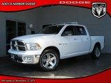 2010 Stone White Dodge Ram 1500 Big Horn Crew Cab #28594714
