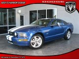 2007 Vista Blue Metallic Ford Mustang GT Premium Coupe #28594716
