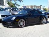 2008 Black Porsche 911 Turbo Cabriolet #218223