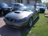2003 Dark Shadow Grey Metallic Ford Mustang GT Convertible #28595212