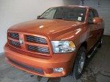2010 Mango Tango Pearl Dodge Ram 1500 Sport Crew Cab 4x4 #28594746