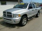 2005 Bright Silver Metallic Dodge Ram 1500 SLT Quad Cab 4x4 #28594915