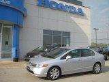 2007 Alabaster Silver Metallic Honda Civic LX Sedan #28594637