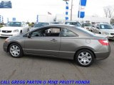 2007 Galaxy Gray Metallic Honda Civic LX Coupe #28594648