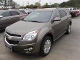 2010 Mocha Steel Metallic Chevrolet Equinox LT #28595334