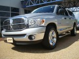 2008 Bright Silver Metallic Dodge Ram 1500 Big Horn Edition Quad Cab #28659247