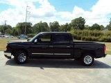 2007 Black Chevrolet Silverado 1500 Classic LS Crew Cab #28659733