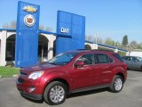 2010 Cardinal Red Metallic Chevrolet Equinox LT AWD #28659263